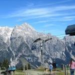 asitzkabinenbahn-bergstation